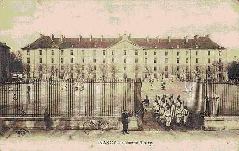 "Caserne Thiry. Pierre Boyer Collection , ""Nancy Hier"""